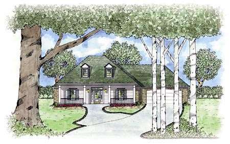 Country House Plan 56135 Elevation