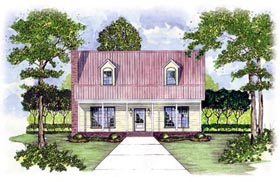 Plan Number 56150 - 1851 Square Feet