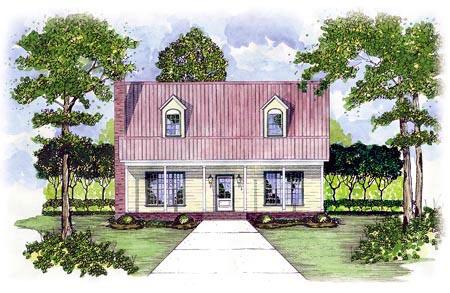 Cape Cod House Plan 56150 Elevation