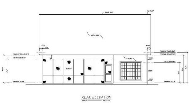 Cape Cod House Plan 56150 Rear Elevation