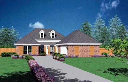 Traditional House Plan 56182 Elevation