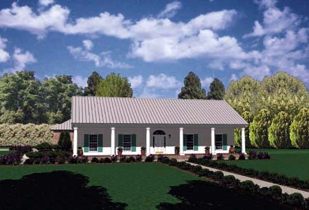 Country House Plan 56197 Elevation
