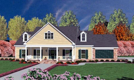 Traditional House Plan 56235 Elevation