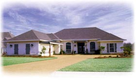 House Plan 56264 | Traditional Style Plan with 2482 Sq Ft, 4 Bedrooms, 3 Bathrooms, 2 Car Garage Elevation
