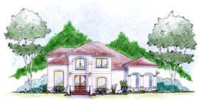 House Plan 56298 Elevation