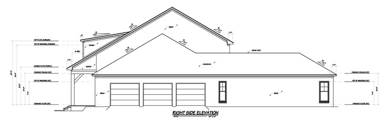 House Plan 56307 with 4 Beds, 5 Baths, 3 Car Garage Picture 2