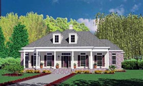 Traditional House Plan 56309 Elevation