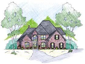 House Plan 56310 Elevation