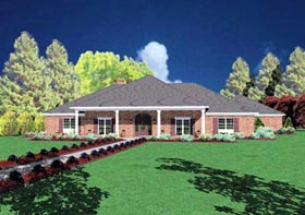 Traditional House Plan 56315 Elevation