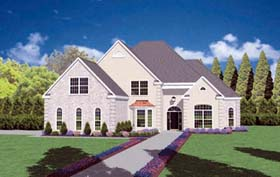 Traditional House Plan 56320 Elevation
