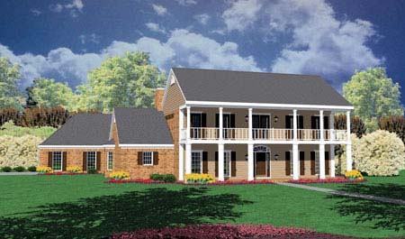 Traditional House Plan 56321 Elevation