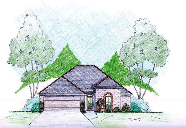 House Plan 56339 Elevation