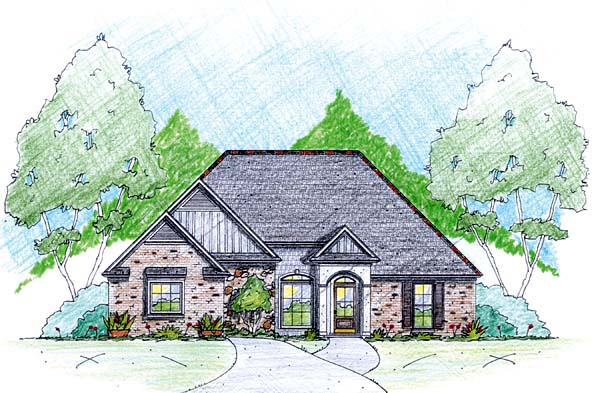 House Plan 56340 Elevation