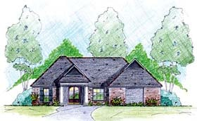 House Plan 56341 Elevation