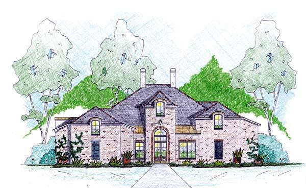 House Plan 56347 Elevation