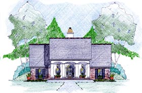 House Plan 56350 Elevation