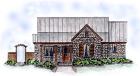 Bungalow House Plan 56505 Elevation