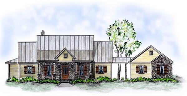 Country House Plan 56512 Elevation