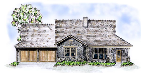 Country Traditional House Plan 56513 Elevation
