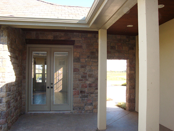 Rear Covered Porch
