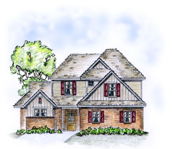 Traditional House Plan 56560 Elevation