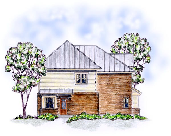 Colonial, Farmhouse, Traditional Multi-Family Plan 56561 with 3 Beds, 6 Baths Picture 1