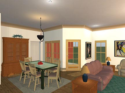 Dining-Living Area
