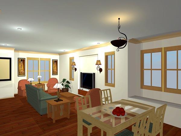 Craftsman, European, Tudor House Plan 56573 with 4 Beds, 3 Baths, 2 Car Garage Picture 1