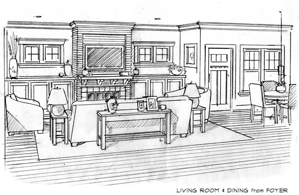 View of Living and Dining Areas