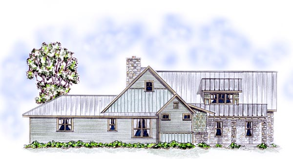 Cottage, Country, Craftsman, Farmhouse House Plan 56576 with 4 Beds, 4 Baths, 2 Car Garage Picture 1