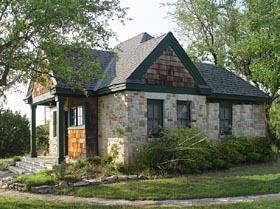 Cottage Craftsman House Plan 56580 Elevation