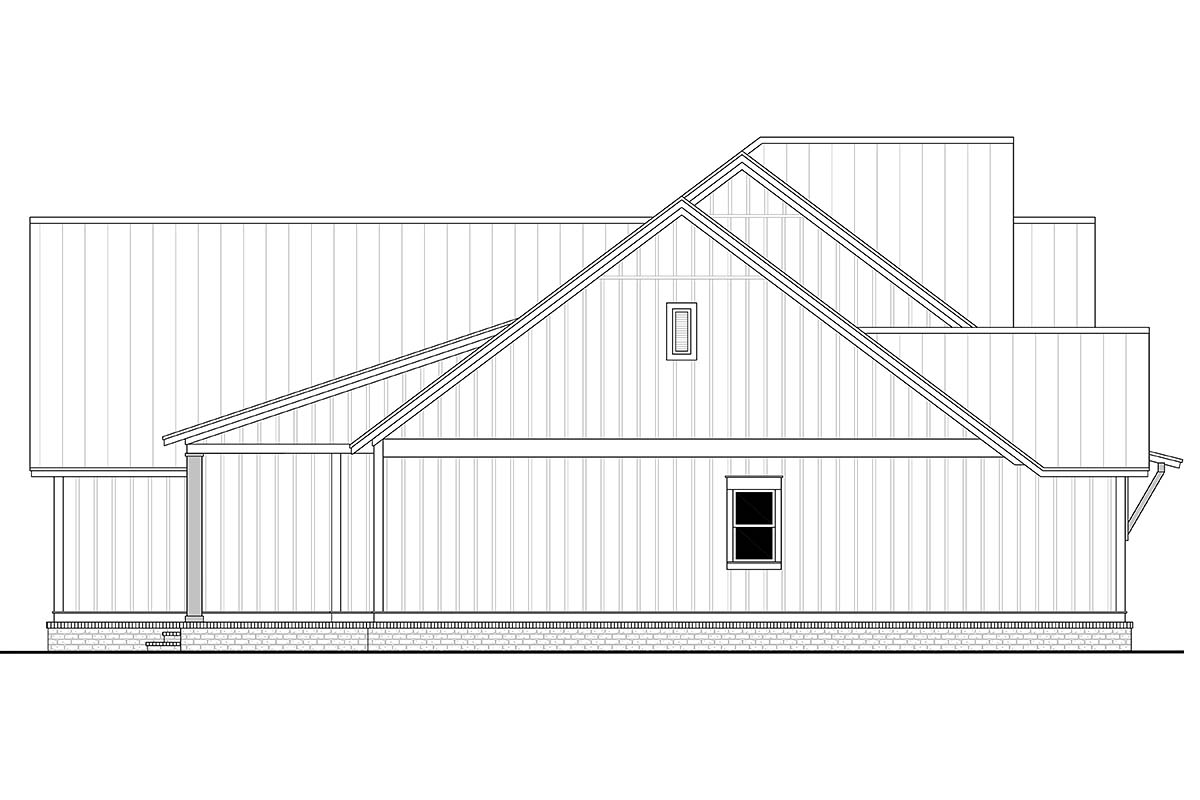 Country, Craftsman, Farmhouse House Plan 56700 with 3 Beds, 3 Baths, 2 Car Garage Picture 2