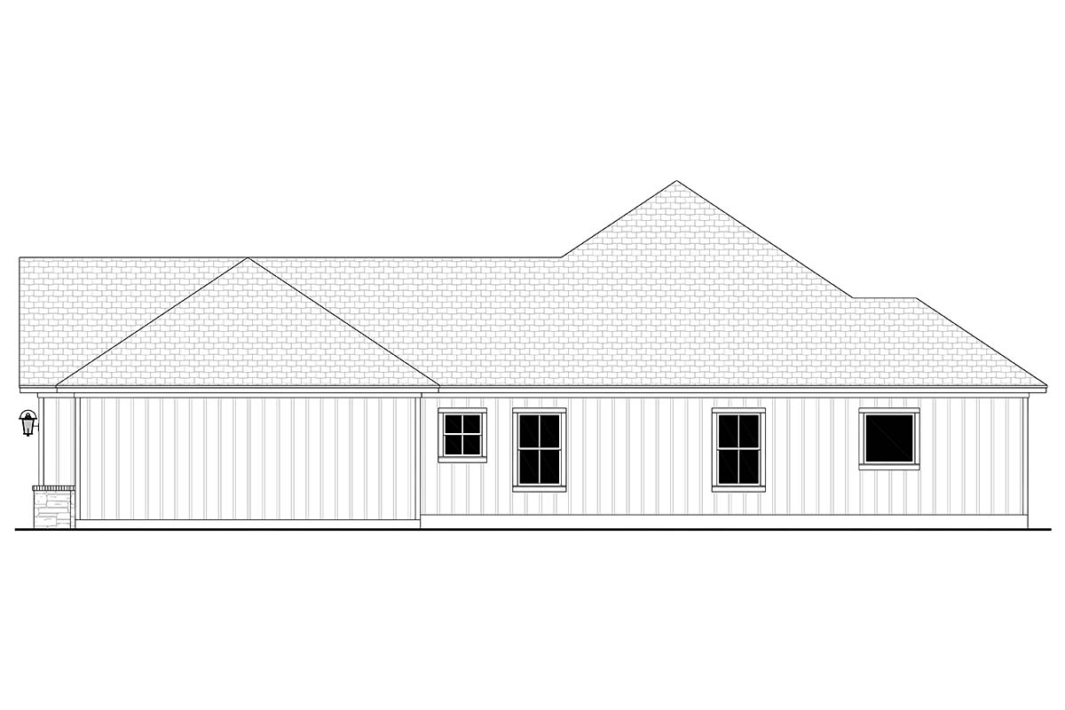 Craftsman, Farmhouse, Ranch House Plan 56707 with 3 Beds, 3 Baths, 3 Car Garage Picture 1