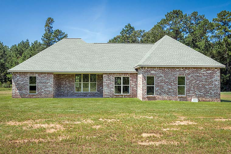 French Country, Traditional House Plan 56906 with 3 Beds, 2 Baths, 2 Car Garage Picture 3