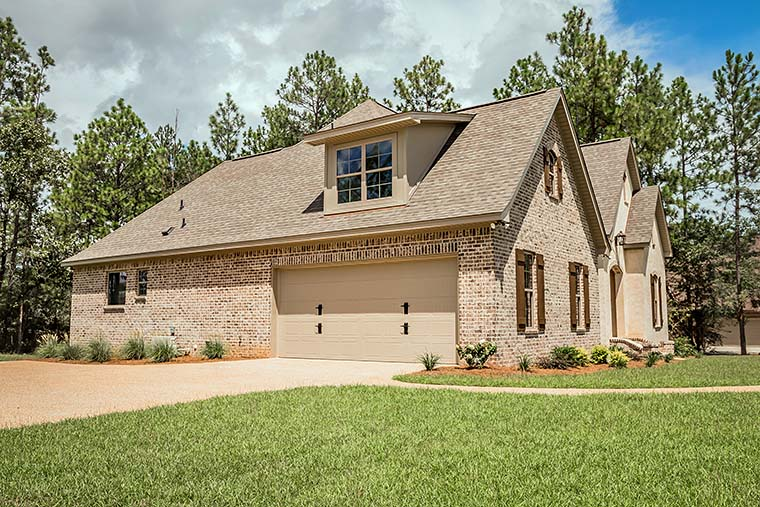 European French Country Southern Traditional House Plan 56918