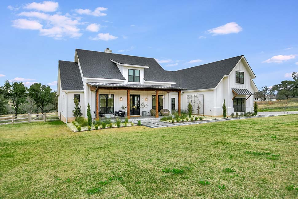 Country, Farmhouse, Southern House Plan 56925 with 4 Beds, 3 Baths, 2 Car Garage Picture 1