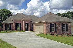 Country European French Country House Plan 56977 Elevation