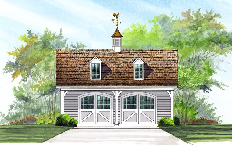 Garage Plan 57056 Elevation