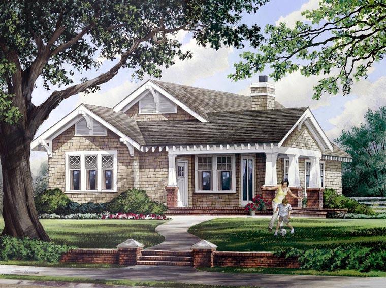 House Plan 57064