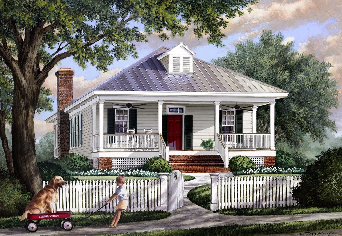 House Plan 57065 At