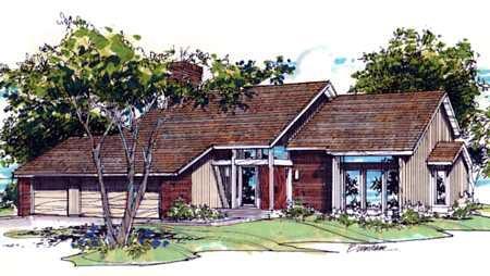 House Plan 57305