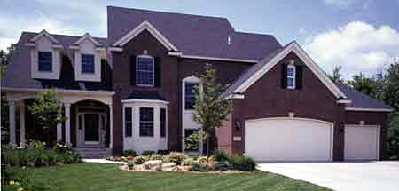 House Plan 57326 | Country European Style Plan with 2850 Sq Ft, 3 Bedrooms, 3 Bathrooms, 3 Car Garage Elevation
