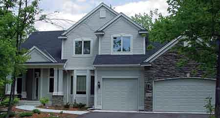Colonial , Country , European House Plan 57331 with 3 Beds, 3 Baths, 3 Car Garage Elevation