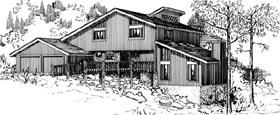 House Plan 57379 Elevation