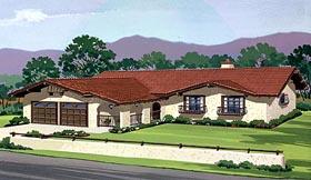 Mediterranean House Plan 57398 Elevation
