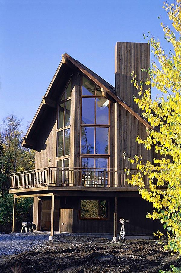 House Plan 57426 Elevation