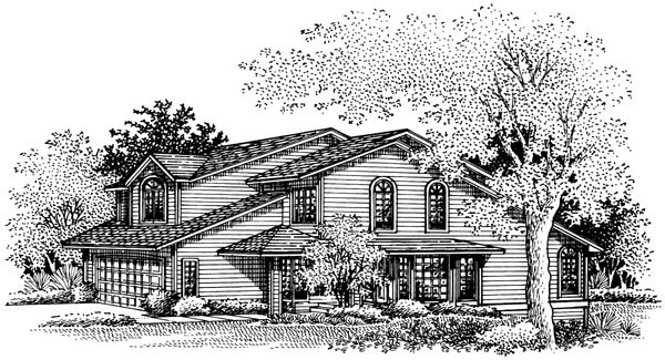 Country House Plan 57436 Elevation