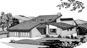 House Plan 57450 Elevation
