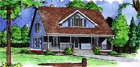 Country House Plan 57467 Elevation
