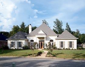 House Plan 57471 Elevation